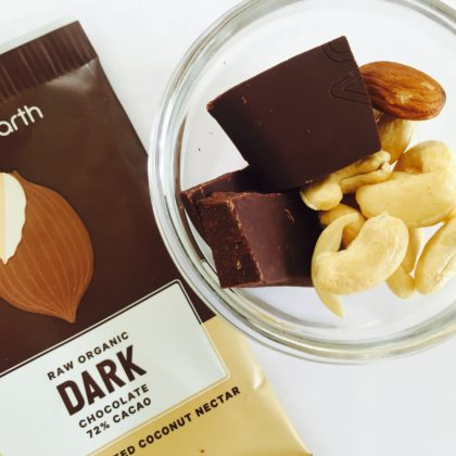 Loving Earth Dark Chocolate & Almonds