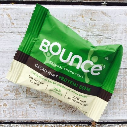 Bounce Ball Cacao and Mint